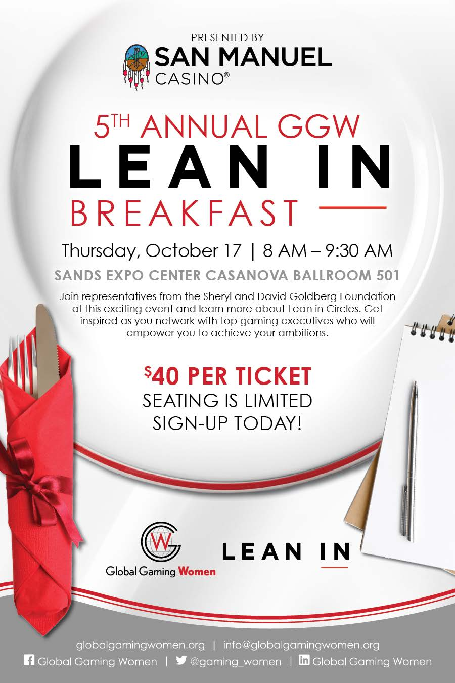 Lean In Breakfast 2019